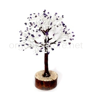 Amethyst & Crystal Stone Tree
